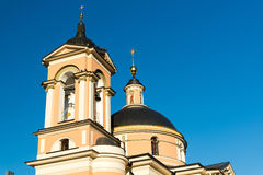 Church of St. Barbara in  street  Varvarka, Russia Stock Photo