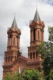 Church of St.Barbara in Vitebsk Stock Photo