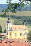 Church of St. Bartholomew Royalty Free Stock Photography