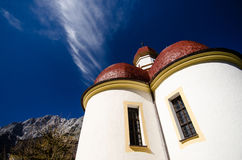 Church of St. Bartolomä at the Königssee Royalty Free Stock Images
