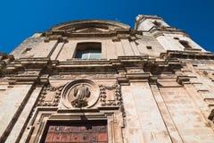 Church of St. Benedetto. Acquaviva delle fonti. Puglia. Italy. Royalty Free Stock Images