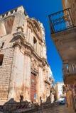 Church of St. Benedetto. Acquaviva delle fonti. Puglia. Italy. Royalty Free Stock Photography