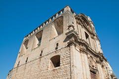 Church of St. Benedetto. Acquaviva delle fonti. Puglia. Italy. Royalty Free Stock Image