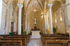 Church of St. Benedetto. Brindisi. Puglia. Italy. Royalty Free Stock Photography