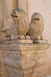 Church of St. Benedetto. Conversano. Puglia. Italy. Royalty Free Stock Photography