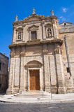 Church of St. Benedetto. Manduria. Puglia. Italy. Royalty Free Stock Image