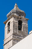 Church of St. Benedetto. Manfredonia. Puglia. Italy. Stock Image