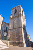 Church of St. Benedetto. Monte Sant'Angelo. Puglia. Italy. Royalty Free Stock Photography
