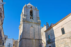 Church of St. Benedetto. Monte Sant'Angelo. Puglia. Italy. Stock Photo