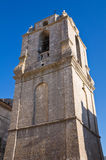Church of St. Benedetto. Monte Sant'Angelo. Puglia. Italy. Royalty Free Stock Photos