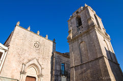 Church of St. Benedetto. Monte Sant'Angelo. Puglia. Italy. Stock Image