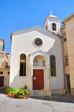 Church of St. Biagio. Diamante. Calabria. Italy. Royalty Free Stock Images