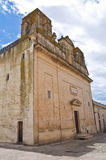 Church of St. Biagio. Ugento. Puglia. Italy. Royalty Free Stock Photography