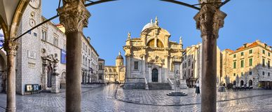 The Church of St. Blaise in Dubrovnik, Croatia Stock Image