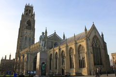 The Church of St Botolph in Boston. The Church of St Botolph in Boston, UK Stock Photos