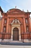 Church of St. Carlo. Ferrara. Emilia-Romagna. Italy. Royalty Free Stock Photos