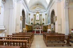 Church of St. Carmine. Melfi. Basilicata. Italy. Royalty Free Stock Image