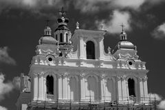 Church of ST. Casimir, Vilnius. Stock Photo