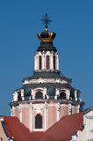 The Church of St. Casimir in Vilnius, Lithuania Royalty Free Stock Photo