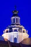 The Church of St. Casimir in Vilnius, Lithuania. St. Casimir's, the oldest baroque church in the Vilnius city ,Lithuania, night Stock Images