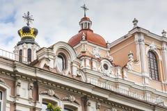 Church of St. Casimir, Vilnius, Lithuania Stock Photos