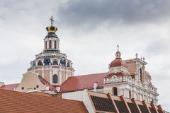Church of St. Casimir, Vilnius, Lithuania Royalty Free Stock Photo