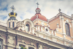 Church of St. Casimir, Vilnius, Lithuania Royalty Free Stock Photography