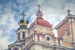 Church of St. Casimir, Vilnius, Lithuania Stock Images