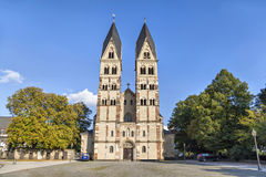 Church of St Castor in Koblenz. Germany Royalty Free Stock Photo