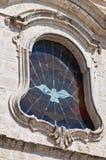Church of St. Cataldo. Cisternino. Puglia. Italy. Royalty Free Stock Photography