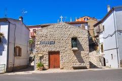 Church of St. Cataldo Pietragalla. Basilicata. Italy. Stock Images