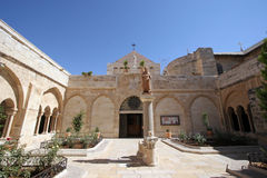Church of St. Catherine of Alexandria, Bethlehem Royalty Free Stock Photo
