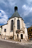 Church of St. Catherine in Banska Stiavnica Stock Photo