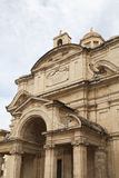 Church of St Catherine in capital of Malta -Valletta, Europe.  Royalty Free Stock Photography