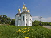 Church of St. Catherine in Chernigov, Ukraine. Royalty Free Stock Photography
