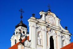 Church of St. Catherine on December 26, 2014 Stock Photo