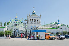 Church of St. Catherine in Feodosia Royalty Free Stock Images