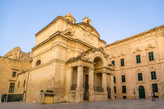 Church of St Catherine in Valletta Royalty Free Stock Photos