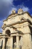 The Church of St Catherine in Valletta, Malta Stock Photography