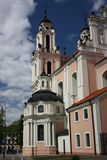 Church of St. Catherine in Vilnius Stock Photography