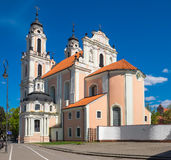 Church of St. Catherine. Vilnius, Lithuania. Royalty Free Stock Photo