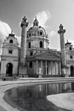 Church of St. Charles Borromeo (Wiener Karlskirche) in Vienna, Austria. Royalty Free Stock Photography