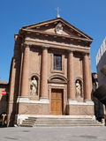 Church of St Christopher, Siena, Italy Stock Photography