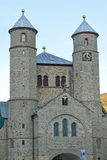 Church of St. Chrysanthus and Dariain Bad Muenstereifel Royalty Free Stock Image