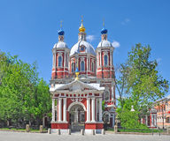 The Church of St. Clement in Moscow. Stock Image