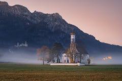 Church St. Coloman Schwangau Royalty Free Stock Photography