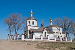 Church of St Constantine and Helena. Sviyazhsk isl Stock Images