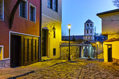 Church of St. Constantine and St. Helena in old town of City of Plovdiv, Bulgaria Royalty Free Stock Photo