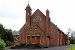 Church st convels Pollock Glasgow Royalty Free Stock Images