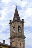 Church of St. Croce. Fontanellato. Emilia-Romagna. Italy. Royalty Free Stock Image